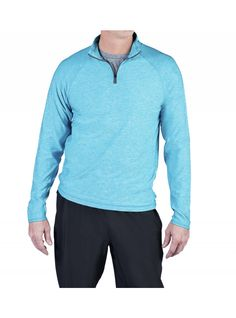Soybu Men's is now available!  Love the fabric on the Continuum 1/2 Zip Arctic - Mens