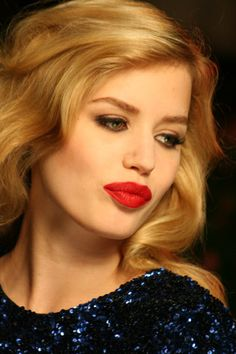 Georgia May Jagger gets her pout on for Rimmel London