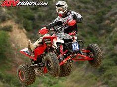 Motocross Winner Helmet Off Kawasaki