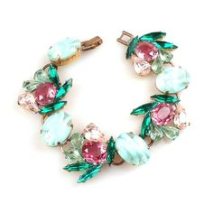 Close to Heaven. Delicate charming pastel colors bracelet. $32.90