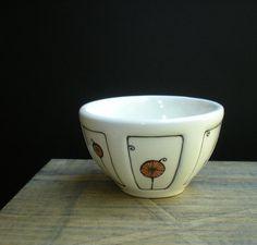 One scoop ice cream bowl.