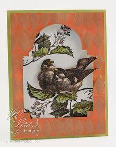 La Blance Birds tutorial by Ellen Hutson