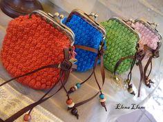 #monederoboquilla #monederocrochet Monederos crochet Paloma