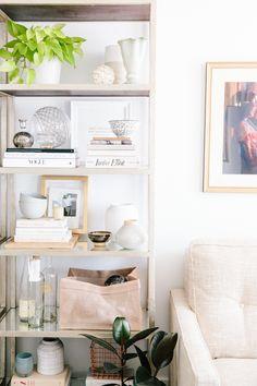 Bookshelf styling | VSCO