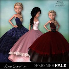 Product Page, Digital Scrapbooking, Ball Gowns, Characters, Display, Princess, Formal Dresses, Store, Fashion