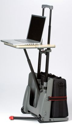 Un ingenioso escritorio portátil