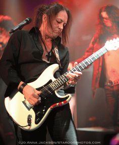 Jake E Lee, guitar player for Red Dragon Cartel, Ozzy Osbourne & Badlands. Photo: Jo Anna Jackson/stardogphotos
