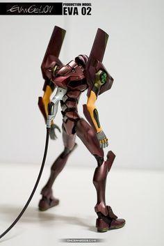 HG Evangelion EVA-02 Production Model