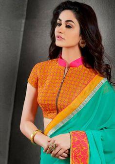 Zip#saree#blouse
