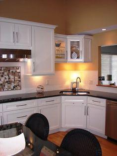 find this pin and more on kitchen kitchen corner sink - Corner Sink For Kitchen
