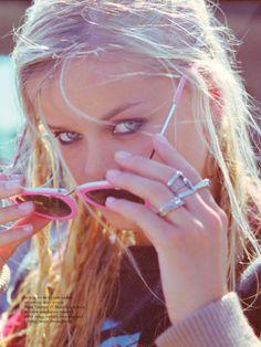 frida aasen shoot3 Frida Aasen Keeps it Casual for Russh Shoot by Hugh Lippe