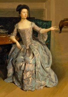 1754-1756 Anne Orde by Arthure Devis