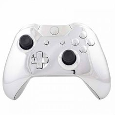 ModFreakz® Shell Kit Chrome Silver For Xbox One Model 1537 Controllers. Perfect gaming accessories for Xbox One gamers, gamer girls, gamer couple and to those who are looking for gamer gift ideas. Video Games Xbox, Xbox One Games, Consoles, Xbox One Bundle, Xbox One Black, Gamer Couple, Gaming Accessories, Diy Accessories, Video Game Reviews