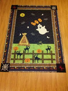 Halloween project from my imagination and Accuquilt Go Cutter