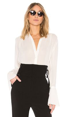 d1b20fc7870 Shop for FRAME Pin Tucked Shirt in Off White at REVOLVE. Free 2-3