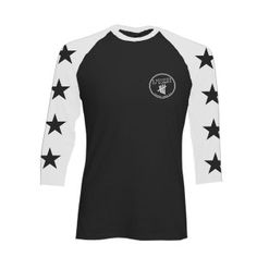 This new baseball shirt features black stars on the sleeves and a Derping logo as a pocket print. 100% cotton Item will ship on or around November 17, 2014.