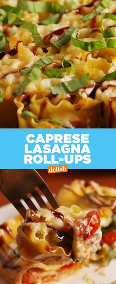 You will never look at lasagna the same way once you try this. Get the recipe from Delish.com.