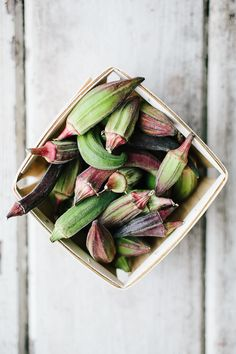 Okra(date accessed : 14 SEP Okra, Fruit And Veg, Fruits And Veggies, Food Photography Styling, Food Styling, Organic Recipes, Raw Food Recipes, San Francisco Food, Food Pictures