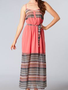 Ya Sleeveless Print Maxi Dress $40.00 : ShopBloved, Live Laugh and Bloved