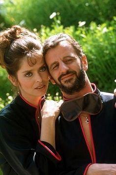 Richard Starkey and Barbara Bach-Starkey