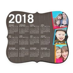 Tilty Woodgrain Calendar Mouse Pad, Bracket, Brown