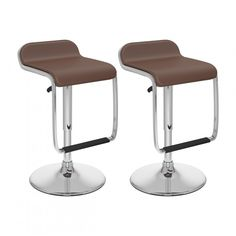 CorLiving White Adjustable Upholstered Swivel Bar Stool at Lowe's. Style your home with this inviting 2 piece white barstool set from CorLiving. This pair is the perfect way to relax indoors. Height adjustable and easy to Upholstered Bar Stools, Swivel Bar Stools, Counter Stools, Step Stools, Kitchen Stools, White Bar Stools, Modern Bar Stools, Home Bar Furniture, Cool Furniture