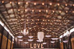 #barn #wedding #barn wedding #okanagan #barnreception #reception #marque #love #lace #chandeliers #parasols #bunting #rustic #barnwood https://www.facebook.com/silversagestables