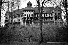 Abandoned asylum in Germany