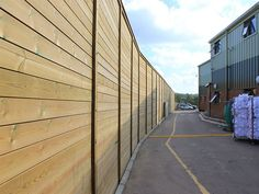 Jakoustic Reflective Acoustic Fencing | Acoustic Barrier | Jacksons Security