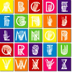 Sing the alphabet with your toddler and have them do the sign language alphabet as you sing together.