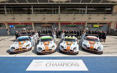 Aston Martin wins in São Paulo to end successful 2014 season - Read full release: astnmrt.in/1B4ESN5