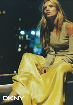 DKNY 1999 - Esther Canadas by Peter Lindbergh