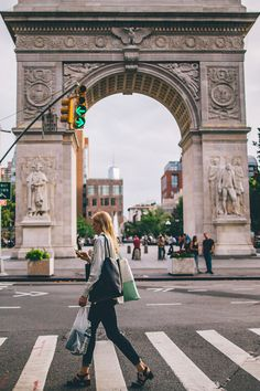 Washington Square Arch- one of the most famous spots in NYC and the heart of greenwich village