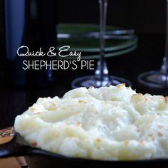 This homemade Shepherd's Pie recipe is the ultimate comfort food.
