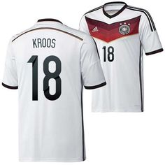 Vintage Germany (18 Kroos) 2014 World Cup home soccer shirts Adidas on sale 1939 - http://www.snstar.com/2014-world-cup-c-45
