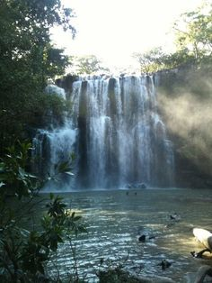 """""""Mystic Falls"""" - Waterfall near Tamarindo in Guanacaste Costa Rica - also referred to as Llano De Cortez waterfall (going to see this soon!!!!)"""
