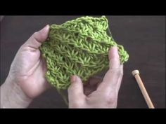 Instrucciones del punto fantasía de estrellas tejido en dos agujas o palillos