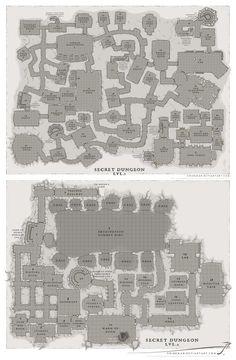 Academy Secret dungeon Lvl. 1-2 sirinkman by SirInkman.deviantart.com on @DeviantArt