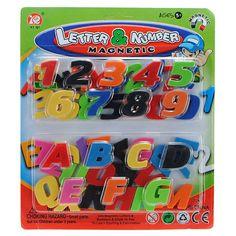 Magnet 26 Letters Numbers Fridge Child Educational Toy http://www.toylinksinc.com/