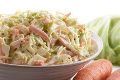 Witte kool salade met wortel