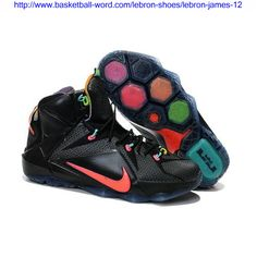 buy online 907a3 67030 Buy 2015 Cheap Nike LeBron 12 Data Black Bright Mango-Hyper Punch-Volt Sale  from Reliable 2015 Cheap Nike LeBron 12 Data Black Bright Mango-Hyper  Punch-Volt ...