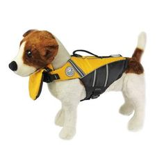 An all time summer favorite! Get wet and wild this summer with all your canine friends, but remember, safety first! The Flotation Jacket from Doggles has an attachable chin float with a locking zipper to help dog's keep their head above water. Human flotation jackets keep your nose out of the water, so why wouldn't one for the canines