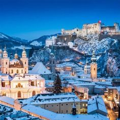 Feel festive this December with a visit to the magical Salzburg Christmas…
