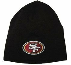 NFL San Francisco 49ers Classic Knit Team Fan Beanie by NFL. $14.99. Classic knit beanie with an embroidered logo. Licensed by the NFL. One size fits most. Made by NFL. Great gift. This is the NFL San Francisco 49ers Classic Knit Team Fan Beanie. Save 40%!