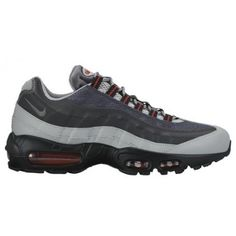 promo code 351d7 3cca0 Nike Air Max 95 - Men s - Running - Shoes - Silver Anthracite University  Red Cool Grey-sku 49766006