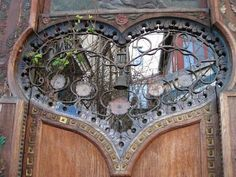 Awesome door.  Bohemian Pages: It's All in The Details
