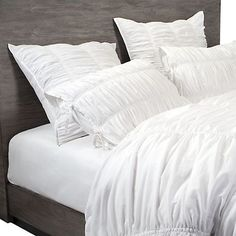 Bella Bedding- White ($129.95)... Classic & Gorgeous! #zgallerie