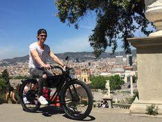 MEIJS Motorman enjoying Barcelona