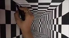 How to Draw a Moving Optical Illusion: Which Wheel Moves? - YouTube