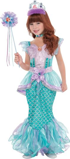 Toddler Girls Ariel Supreme Costume - Party City